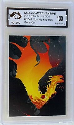 Beautiful Death Art Card Game Of Thrones Graded Pristine