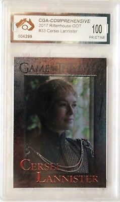 Parallel Foil Cersei Lannister Card Game Of Thrones Graded Pristine