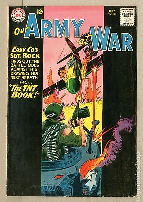 Our Army at War #134 1963 VG/FN 5.0