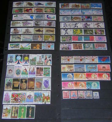 Thailand 1985-1987 Collection 104 diff used stamps