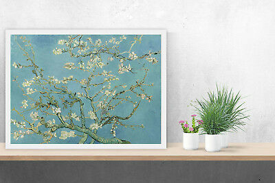 VAN GOGH Almond Blossom Tree Wall Picture Van Gogh Poster Print Pictures #206