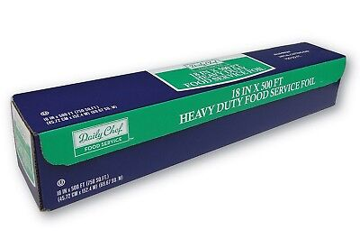 Heavy Duty Aluminum Foil Food Service Foil 500 ft. Roll Daily Chef