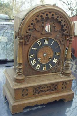Old LARGE cuckoo clock case only for restoration, good project