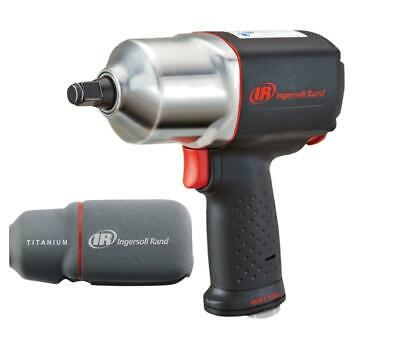 "Ingersoll Rand #2135QXPA 1/2"" Quiet Impact Wrench w/ LED Boot & 10pc Socket Set!"