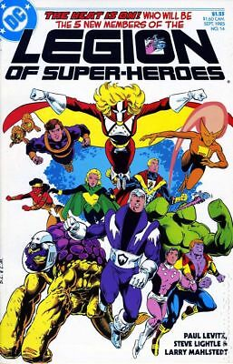 Legion of Super-Heroes (3rd Series) #14 1985 VF Stock Image