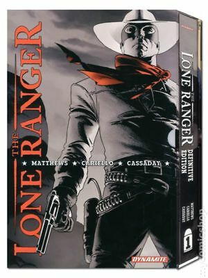 Lone Ranger HC (Dynamite) Definitive Edition #1-1ST 2010 NM Stock Image