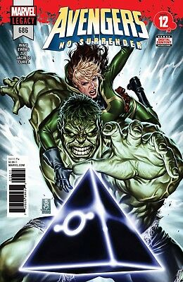 Avengers #686 Cover A Legacy - No Surrender Part 12 - Mark Waid - 3/28/18