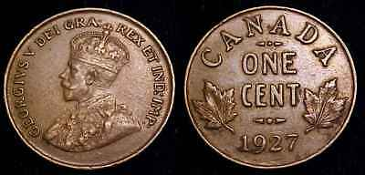 CANADA 1927 One Cent XF