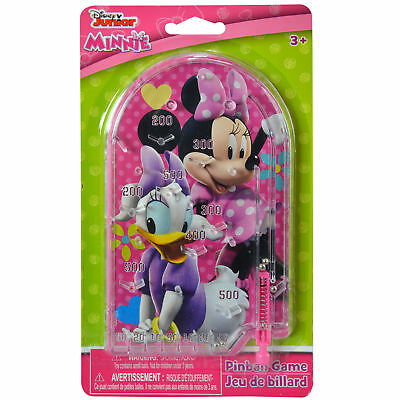 Disney Minnie Mouse and Daisy Duck Handheld Pinball Game Travel Toy