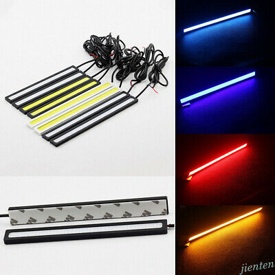Ultrathin Waterproof COB Car LED Lights 12V for DRL Fog Light Driving Lamp