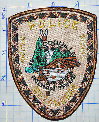 Oregon, Coquille Indian Tribe Police Millennium 2000 Patch