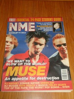 Nme 2000 September 30 Radiohead Muse Green Day Zombie Nation