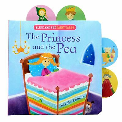 Slide And See The Princess And The Pea Fairy Tale Story Book Bedtime Read Fun
