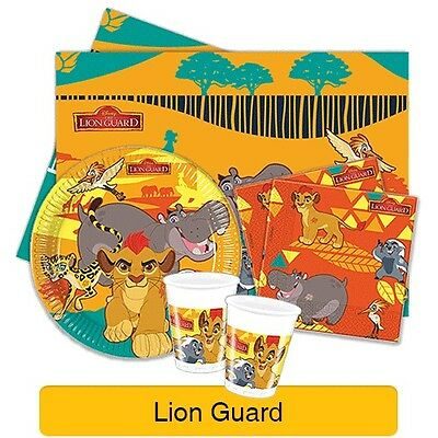 Disney The LION GUARD Birthday Party Range Lion King Tableware & Decorations{1C}