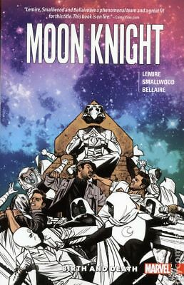 Moon Knight TPB (Marvel) By Jeff Lemire #3-1ST 2017 NM Stock Image