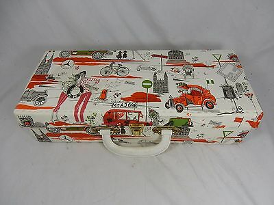 Small beautiful original 60´s design box / schöner kleiner Koffer Auto Motive