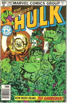 The Incredible Hulk Comic Book #248 Marvel Comics 1980 FINE