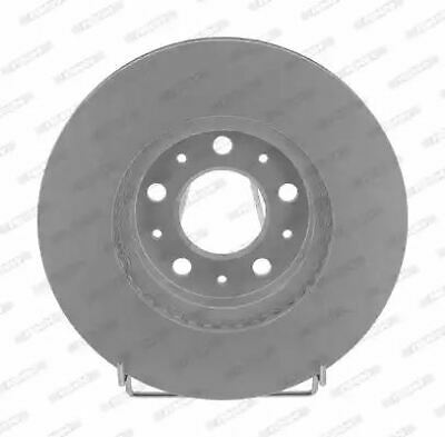 12 Month Warranty! DDF1223C 2x Brand New Ferodo Front Brake Disc