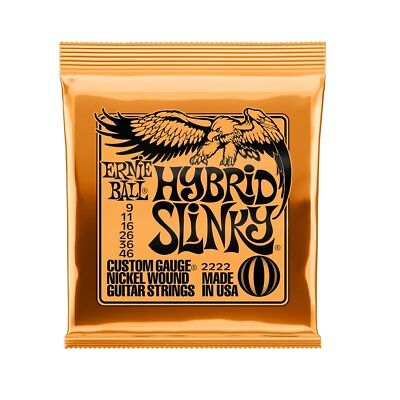 Ernie Ball Hybrid Slinky Nickel Wound Set 2222 (9 - 46)