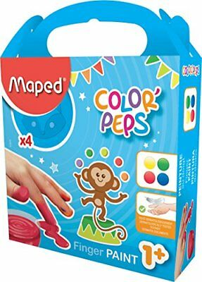 4 Maped my first Fingerfarbe Color Peps weich cremig abwaschbar Fingermalfarben