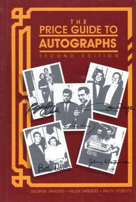 The Price Guide to Autographs, Hardcover 2nd Edition