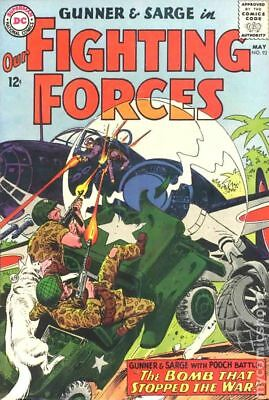 Our Fighting Forces #92 1965 VG+ 4.5 Stock Image
