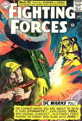 Our Fighting Forces #94 1965 VG+ 4.5 Stock Image