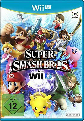 SUPER SMASH BROS. WII U WIIU NOUVEAU + emballage d'origine