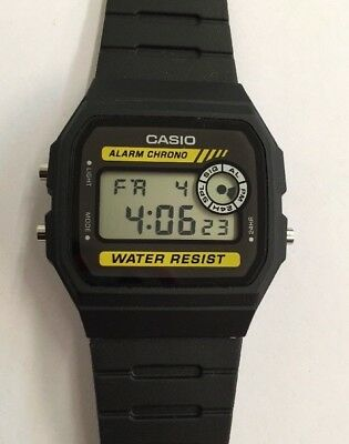 NEW Casio RETRO F94WA-9D Digital Men's Vintage Watch Alarm Stopwatch Light RESIN