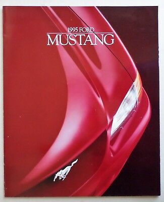 1995 Ford Mustang Deluxe Sales Catalog