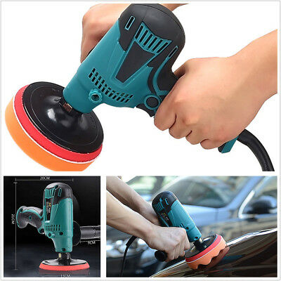 Portable 220V 600W Car SUV 6-Speed Paint Care Waxing Machine Furniture Polisher