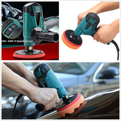 Universal Adjustable-Speed Autos Paint Care Waxing Machine Polisher 220V 50-60HZ