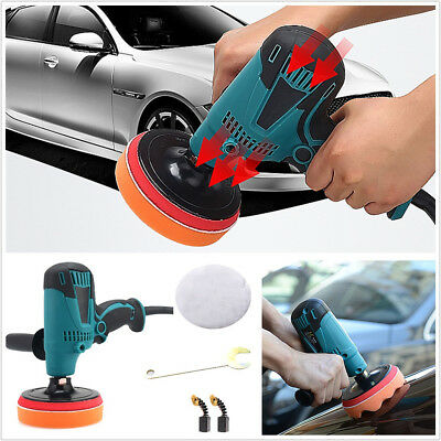 Professional Round 220V 6-Speed Car Furniture Porcelain Polisher Waxing Machine