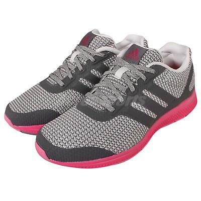 adidas Mana Bounce W Grey Pink Womens Running Shoes Trainers Sneakers AF4116 c84e6bb0e