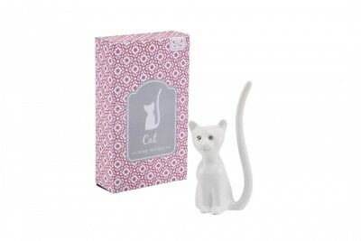 White Cat Ring Holder Ring Stand Ring Display Jewellery Stand