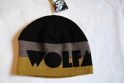 f99a5027cc9 Wolfmother Logo Beanie Ski Hat New Official Cosmic Egg New Crown Victorious
