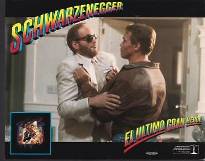 Arnold Schwarzenegger Charles Dance Last Action Hero 1993 movie photo 33881
