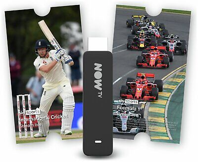 NOW TV Smart Stick Full HD 1080p Voice Search with 1 Month Sky Sports Pass.