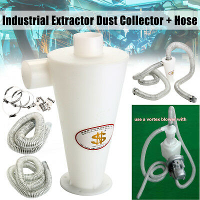 NEW POWERFUL DUST EXTRACTOR VACUUM Cleaners Cyclone Dust Separator Collector