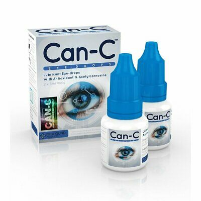 Can-C Eye-Drop - Cataract Treatment Without Surgery - (2 x 5ml Vials)