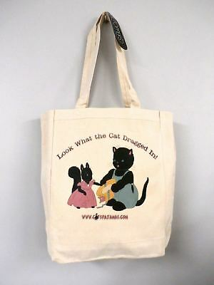 Tote Bag Look What The Cat Dragged In Limited Edition The Cats Pajamas