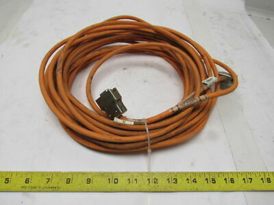 Indramat IKS0056 INK0234 AWM Style 20235 Servo Feed Back Cable 14 Meters