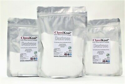 Classikool Pure Dextrose Powder: Food Grade Glucose for Baking, Cooking & Energy