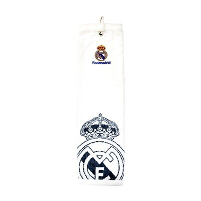 Real Madrid Trifold Golf Towel - Fc Football