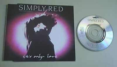 """Simply Red It's Only Love Cd Single 3"""" 4 Track German"""