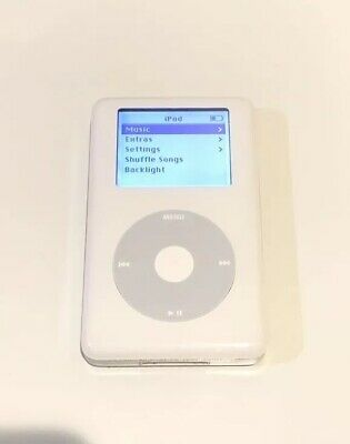 Apple iPod Classic 4th Generation White - HP Invent (20 GB) PE435AABA MP102 Good