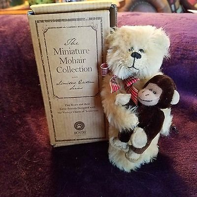 Boyds Bears Limited Miniature Mohair Collection Madison Retired New!