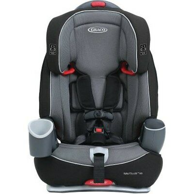 Graco Nautilus 3-in-1 Harness Booster Comfort Kids Children Car Seat Bravo NEW