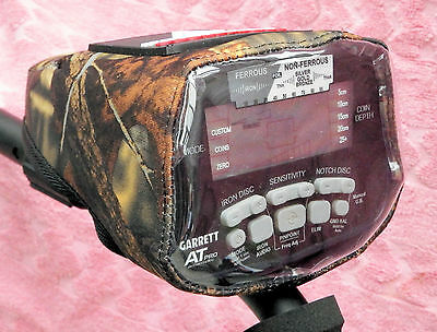 Garrett At Pro/at Gold/at Max - Control Box Cover -Camo Neoprene-Metal Detector