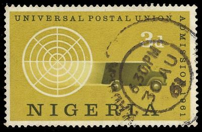 NIGERIA 115 (SG103) - Admission to the Universal Postal Union (pa39550)